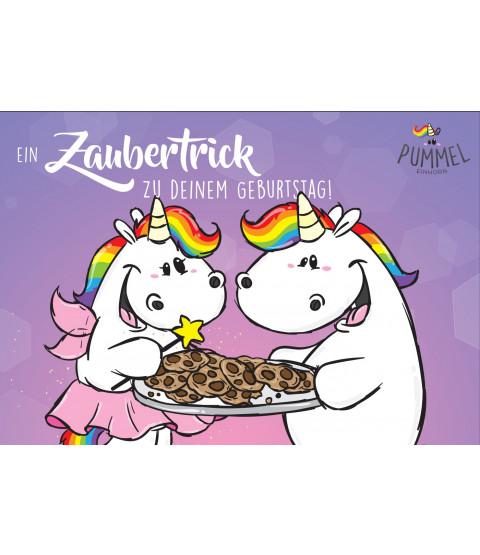 "Grußkarte ""Zaubertrick"" mit Innendruck"