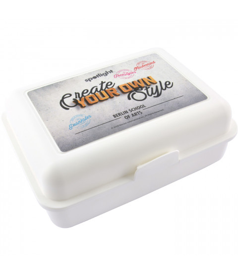 "Spotlight Brotdose Lunchbox ""Create"", 17,5 x 12,8 x 6,9 cm"