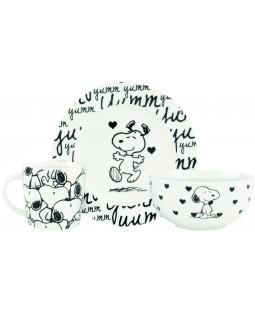 "Peanuts - Frühstücksset, 3tlg. ""Snoopy"" - 0121751"
