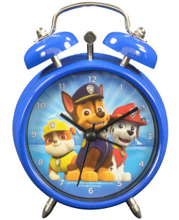 "Paw Patrol – Wecker, Ø7,5cm ""Marshall, Rubble & Chase"" - Metall - 0121984"