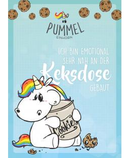 "Pummeleinhorn Sammelblock DIN A4, Nr. 4, ""Keksdose"""