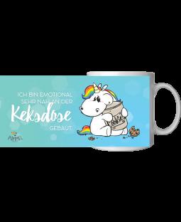 "Pummeleinhorn Tasse, ""Keksdose"", ca. 320ml"
