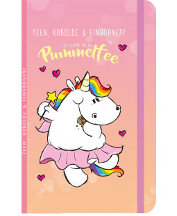 """Pummeleinhorn Notizbuch """"Pummelfee"""""""