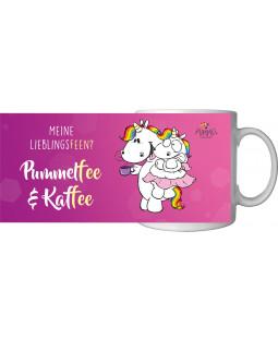 """Pummeleinhorn Tasse, """"Pummelfee & Kaffee"""", ca. 320ml"""