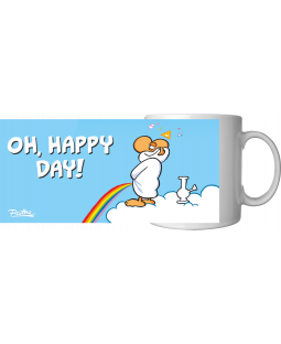 "Ralph Ruthe Kaffeetasse, ""Oh, Happy Day"" 320ml"