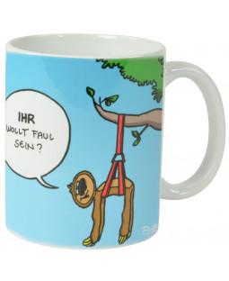 """Ralph Ruthe Kaffeetasse, """"Faultiere"""" 320ml"""