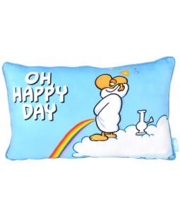 "Ralph Ruthe Kissen ""Oh Happy Day"" 24x40 cm"