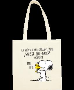 """Snoopy Stoffbeutel, """"weisst-du-noch"""""""