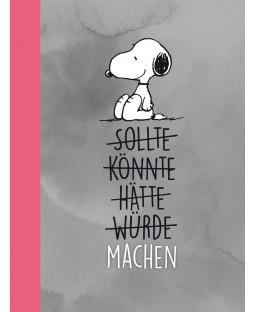 "Snoopy Collegeblock DIN A4 ""MACHEN"""