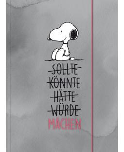 """Snoopy Sammelmappe DIN A4 """"MACHEN"""""""