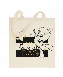 "Tweety Stoffbeutel ""my favorite bag"""