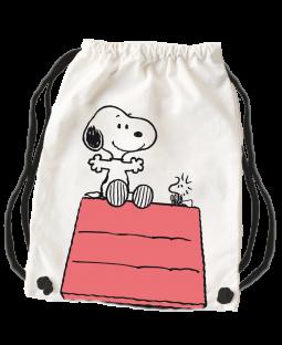 """Snoopy Für Dich Stoffrucksack """"Hütte"""""""