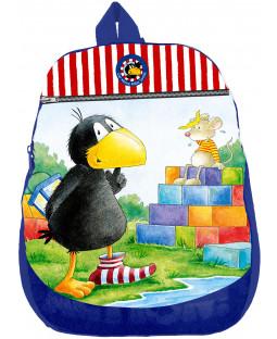 Der kleine Rabe Socke - Kinder Rucksack, Polyester 20 x 25 x 6,5 cm