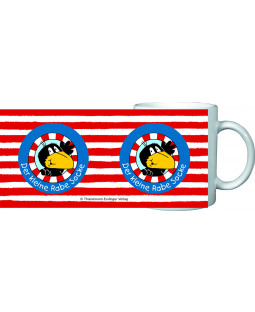 """Der kleine Rabe Socke - Tasse """"Logo"""", in Geschenkbox, Porzellan 200ml"""
