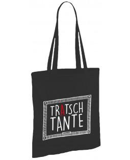 """Tacheles - Stoffbeutel Tasche """"Tratsch Tante"""", 38 x 41 cm"""