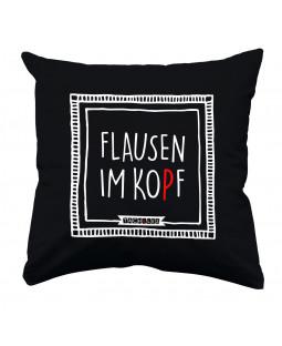 """Tacheles - Kissen Wohnaccessoir """"Flausen"""", 30 x 30 cm"""