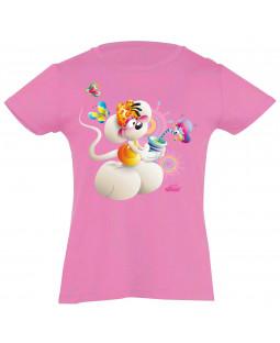 """Diddl T-shirt - kurzarm, """"Diddlina Flatterli"""""""