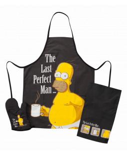 "The Simpsons - Grillset Homer Simpson - 3 tlg. ""The Last Perfect Man"""